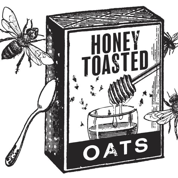 Graphic for Honey Toasted Oats