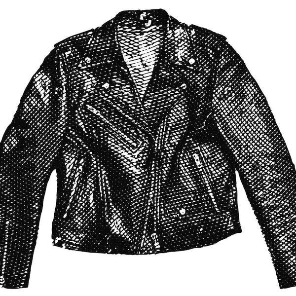 Graphic for Leather Jacket