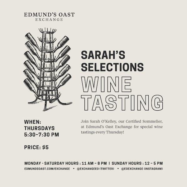 EOX Weekly Wine Tasting
