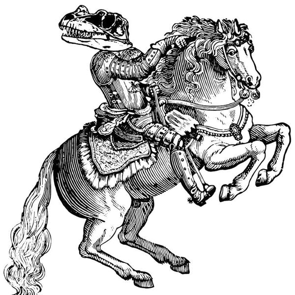 Image or graphic for Of Dinosaurs and Horses