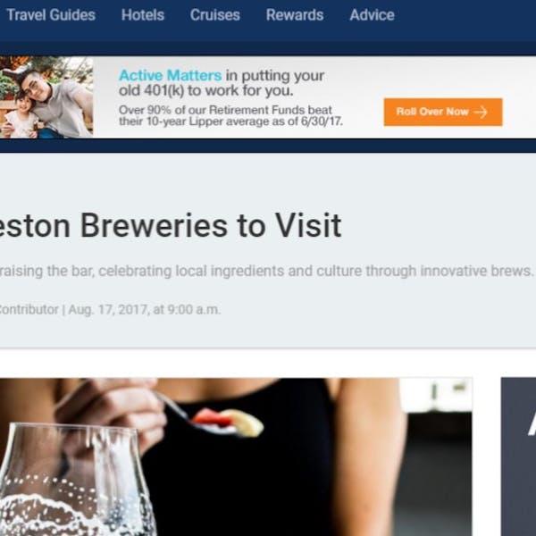 5 Charleston Breweries to Visit