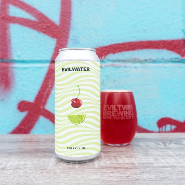 Image or graphic for EVIL WATER – CHERRY LIME