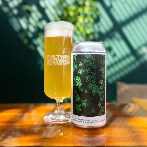 Image or graphic for GREENHOUSE OAT LAGER – CONDITIONED ON AMERICAN OAK FOUDRE