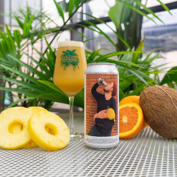 """Image or graphic for THE SOUR ADAPTATION OF ROOT + BRANCH'S """"THE NOMADIC APPROACH TO REINVENTING THE WHEEL"""" BREWED WITH GREAT CARE AT EVIL TWIN NYC IN RIDGEWOOD QUEENS UNDER THE DIRECTION OF HUDSON VALLEY BREWERY V.2"""