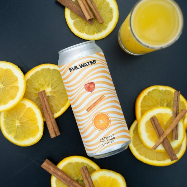 Image or graphic for EVIL WATER – HAZELNUT, CINNAMON, ORANGE