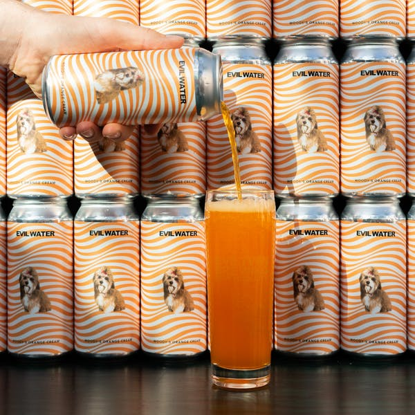 Image or graphic for EVIL WATER – WOODY'S ORANGE CREAM