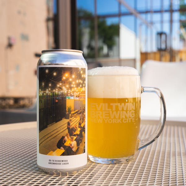 Image or graphic for GO-TO RIDGEWOOD GREENHOUSE LAGER