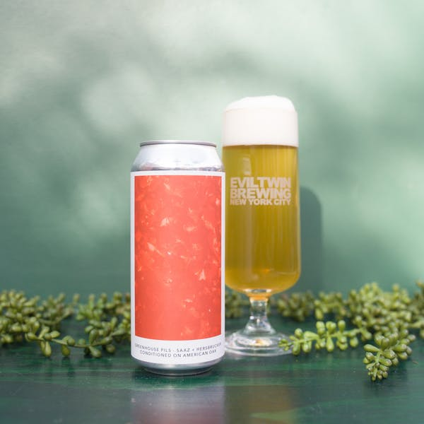Image or graphic for GREENHOUSE PILS – SAAZ + HERSBRUCKER CONDITIONED ON AMERICAN OAK