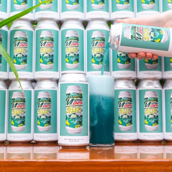 Image or graphic for MIDTOWN DEW J.R.E.A.M. – BAJA BLAST
