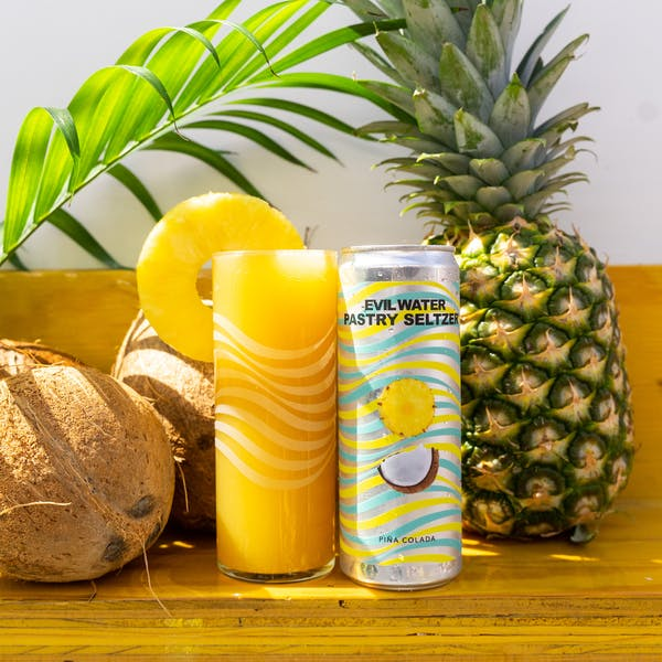Image or graphic for EVIL WATER PASTRY SELTZER – PINA COLADA