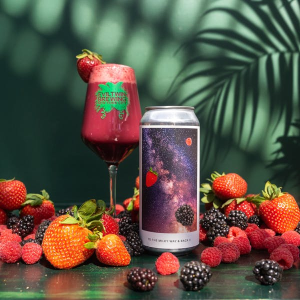 Image or graphic for TO THE MILKY WAY & BACK II – RASPBERRY, STRAWBERRY, BLACKBERRY, VANILLA