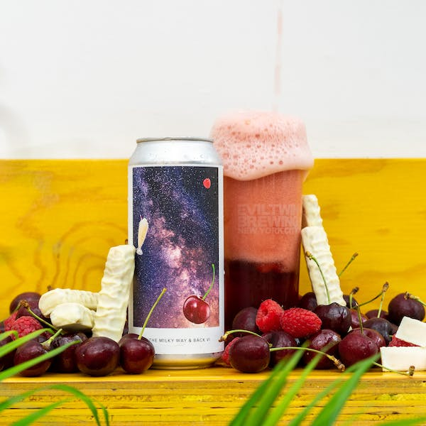 Image or graphic for TO THE MILKY WAY & BACK VI – RASPBERRY, CHERRY, WHITE CHOCOLATE