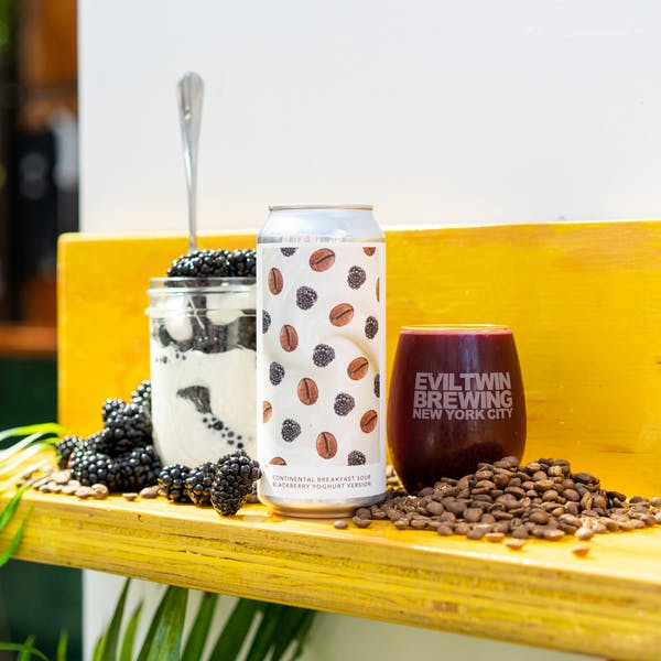 Image or graphic for CONTINENTAL BREAKFAST SOUR BLACKBERRY YOGHURT VERSION