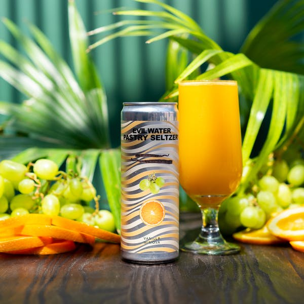 Image or graphic for EVIL WATER PASTRY SELTZER – VANILLA MIMOSA