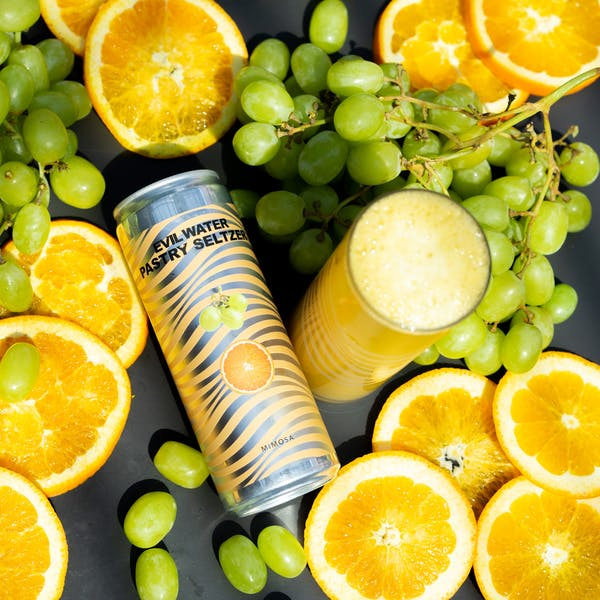 Image or graphic for EVIL WATER PASTRY SELTZER – MIMOSA