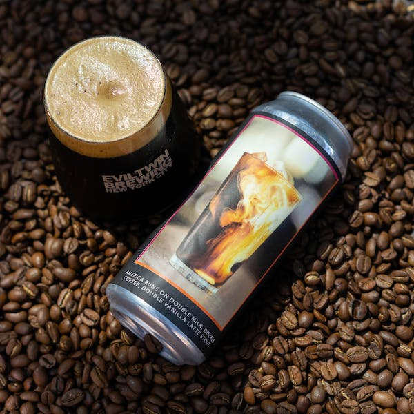 Image or graphic for AMERICA RUNS ON DOUBLE MILK, DOUBLE COFFEE, DOUBLE VANILLA LATTE STOUT