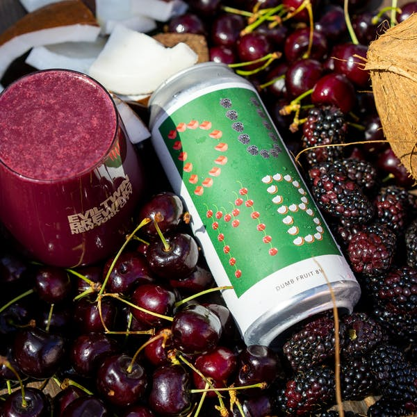 Image or graphic for DUMB FRUIT 8 1/2 – RHUBARB, BLACKBERRY, SWEET CHERRY, COCONUT