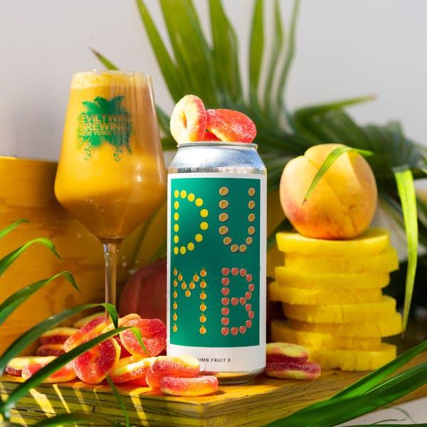 Image or graphic for DUMB FRUIT 8 – PINEAPPLE, PASSION FRUIT, PEACH, GUMMY PEACH RINGS
