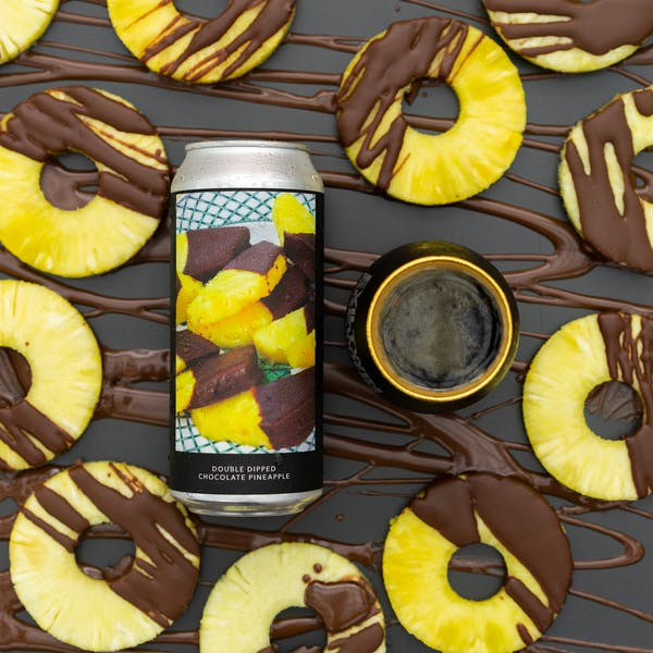Image or graphic for DOUBLE DIPPED CHOCOLATE PINEAPPLE