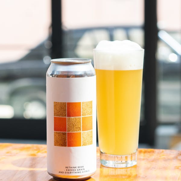 Image or graphic for RETHINK BEER – EXCESS GRAIN AND EVERYTHING CITRUS