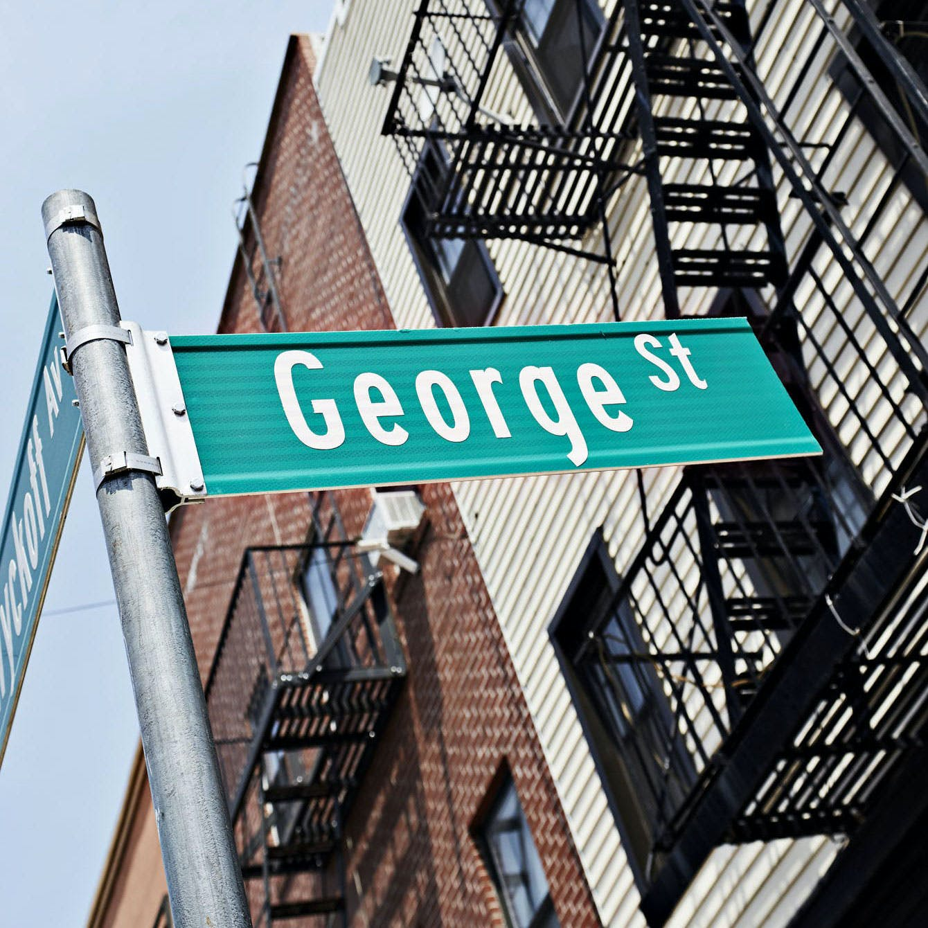 Evil Twin Brewing NYC - George Street Sign