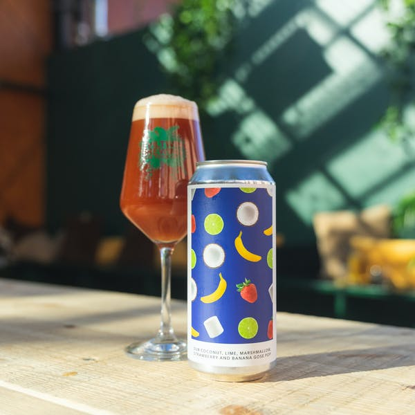 Image or graphic for OUR COCONUT, LIME, MARSHMALLOW, STRAWBERRY, AND BANANA GOSE POP