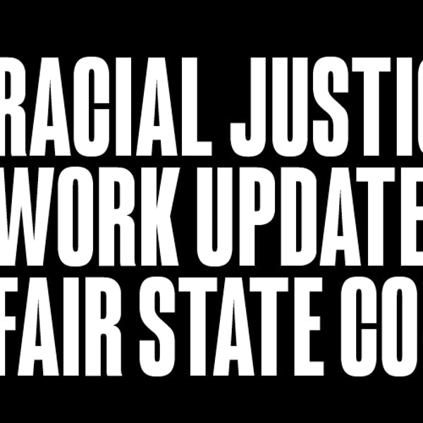 Racial Justice Work Update from Fair State Brewing Cooperative