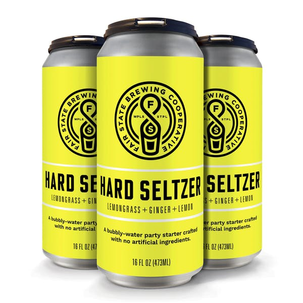 Image or graphic for Hard Seltzer, Lemongrass + Ginger + Lemon