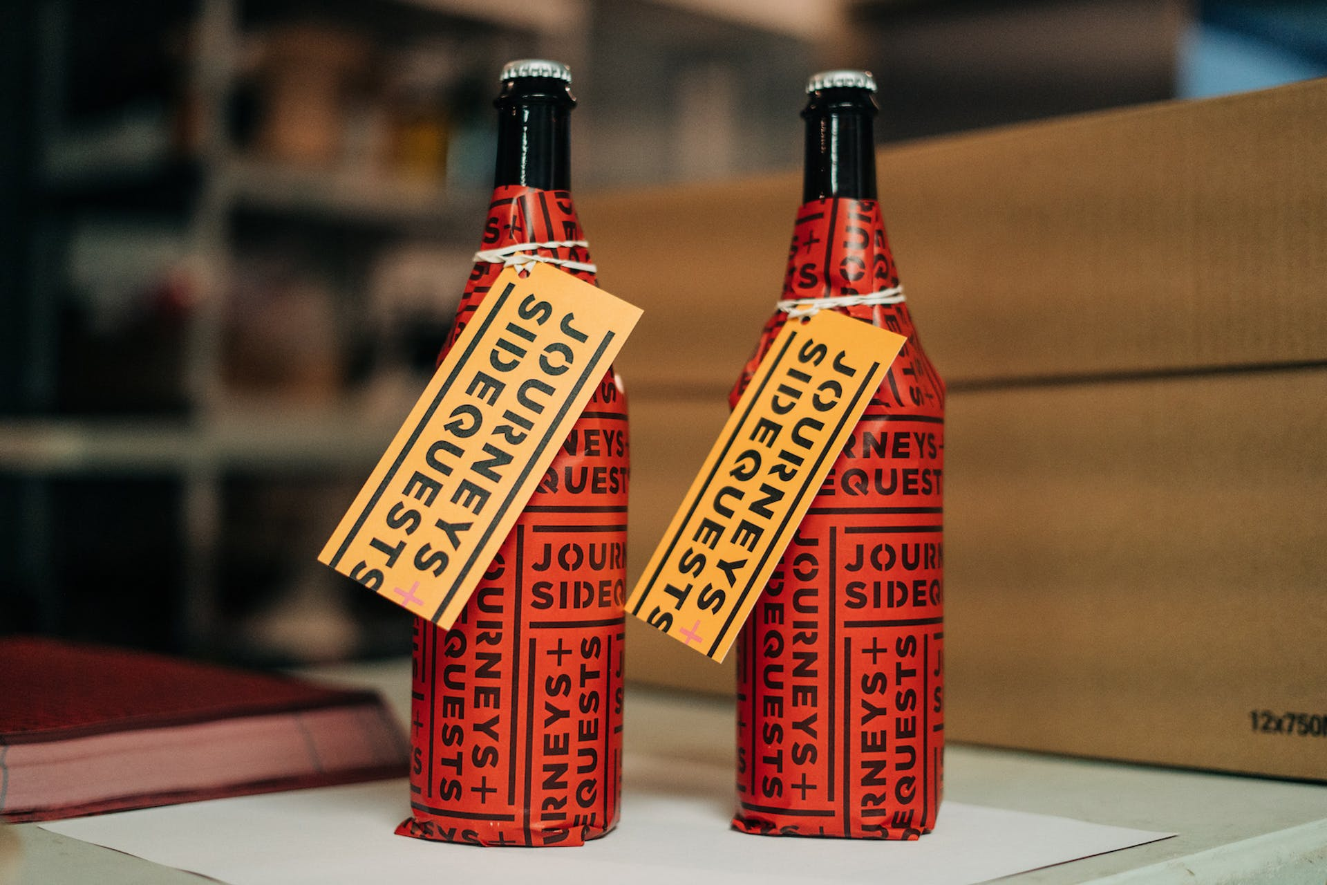 J+S_Red-wrapped-bottles