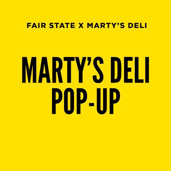 Marty's Deli Pop-Up