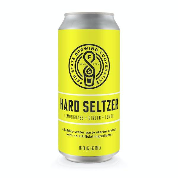 Image or graphic for Hard Seltzer, Lemongrass + Ginger + Lemon