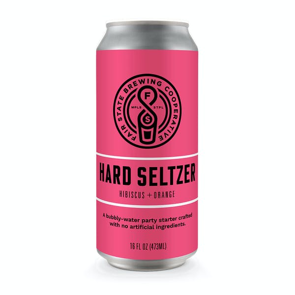 Image or graphic for Hard Seltzer, Hibiscus + Orange