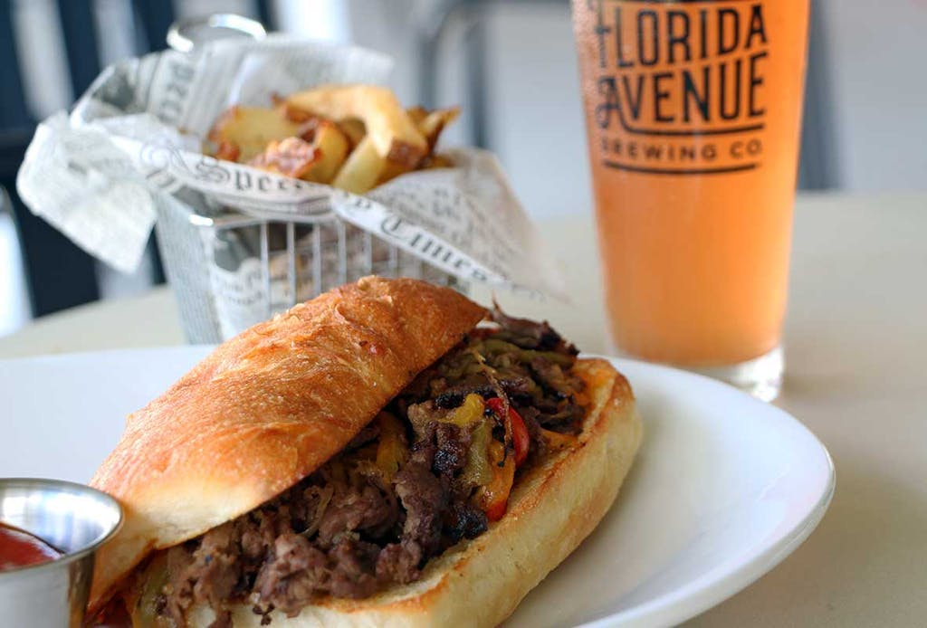 Prime Rib Cheesesteak Sandwich