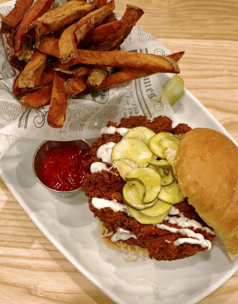 New menu item - chicken sandwich