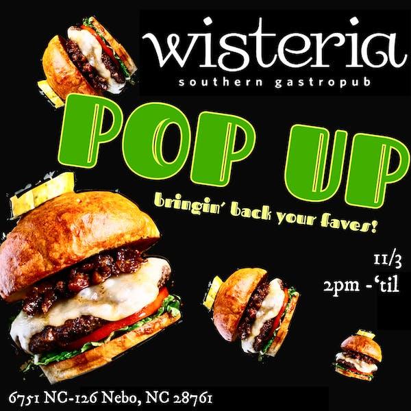 Wisteria Pop-up!