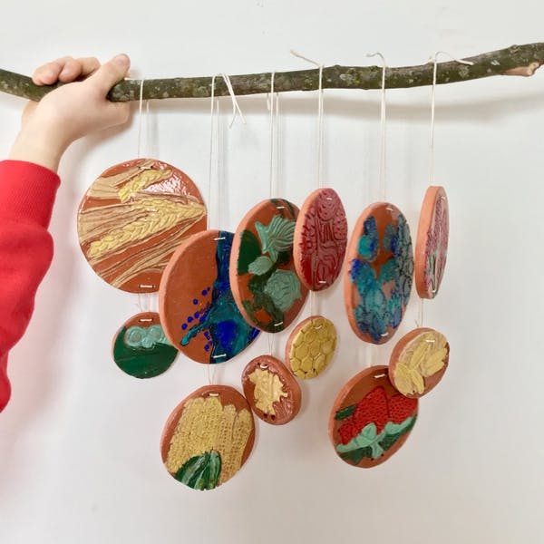 Clay Mosaic Workshop