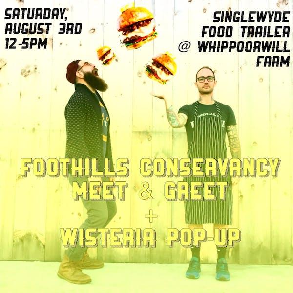 Foothills Meet & Greet + Wisteria Pop Up