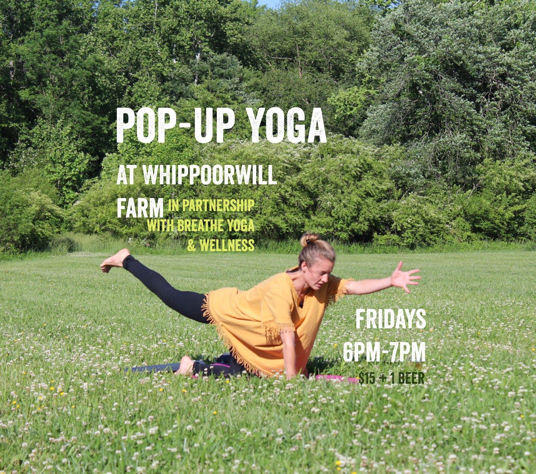 yoga pop up