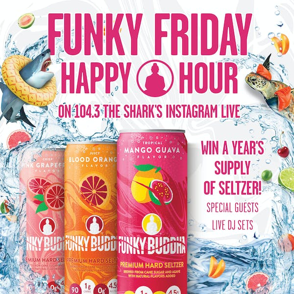 Funky Friday Happy Hour on May 15th at 5pm