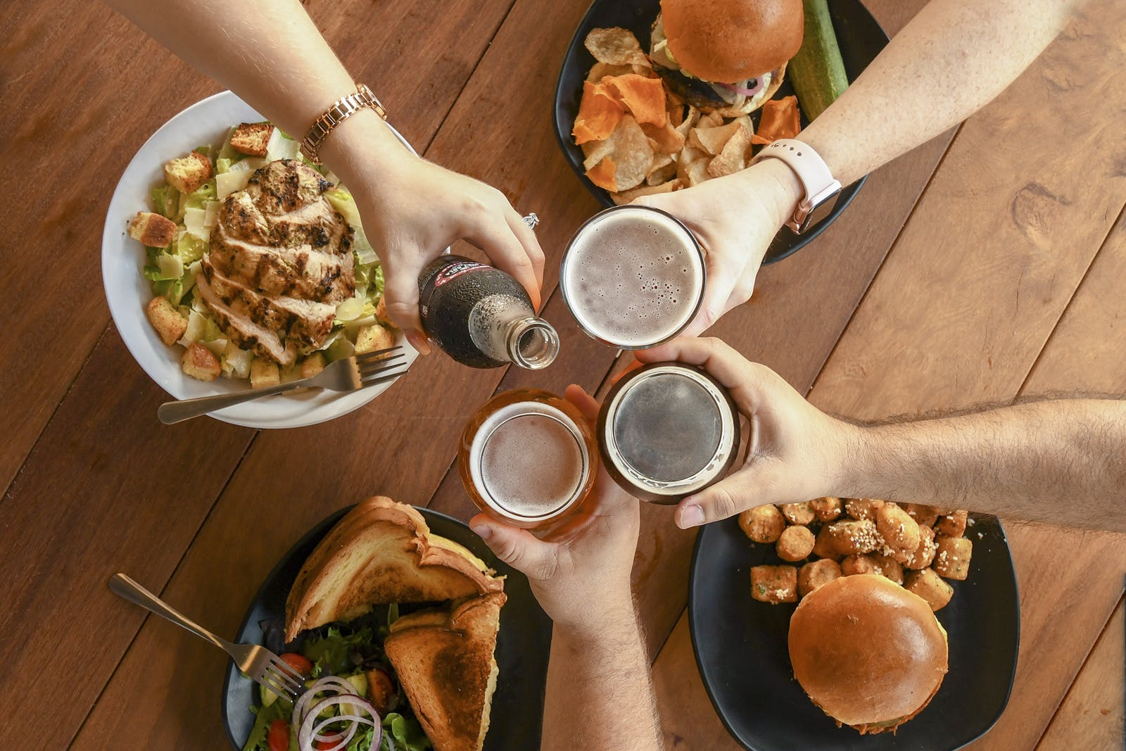 Funky Buddha Food and beer