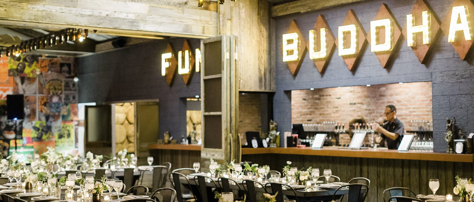 Funky Buddha Private Events