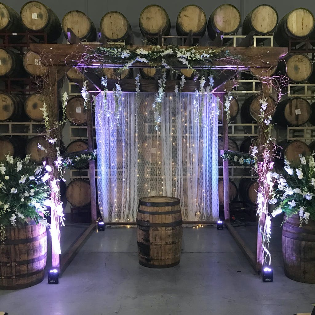 Weddings in the Funky Buddha Barrel Room
