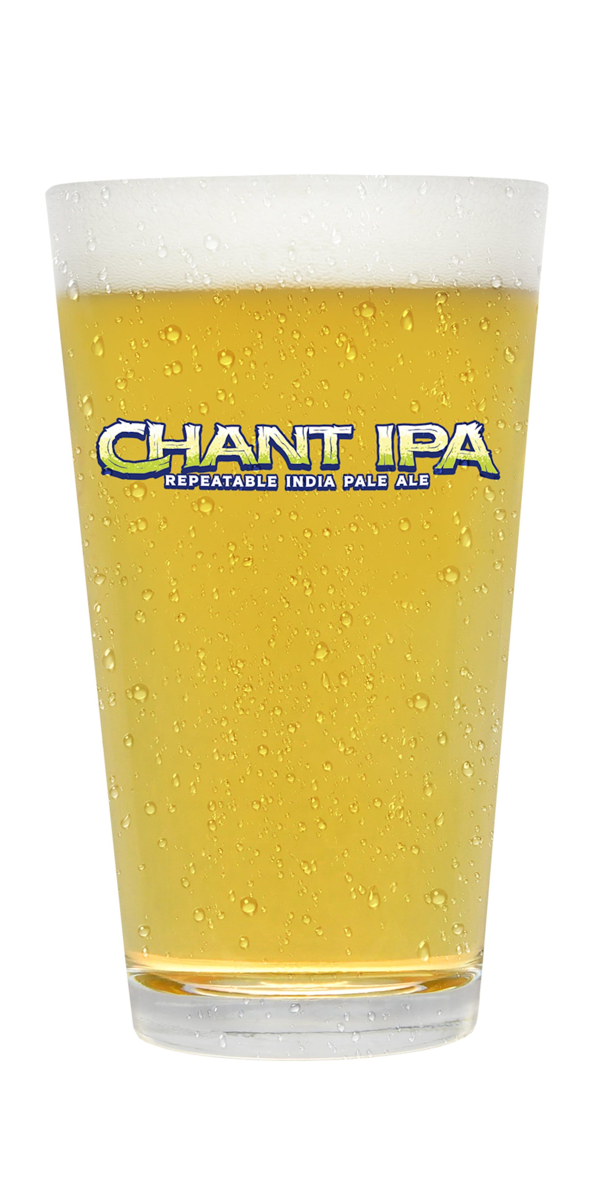 Chant IPA glass