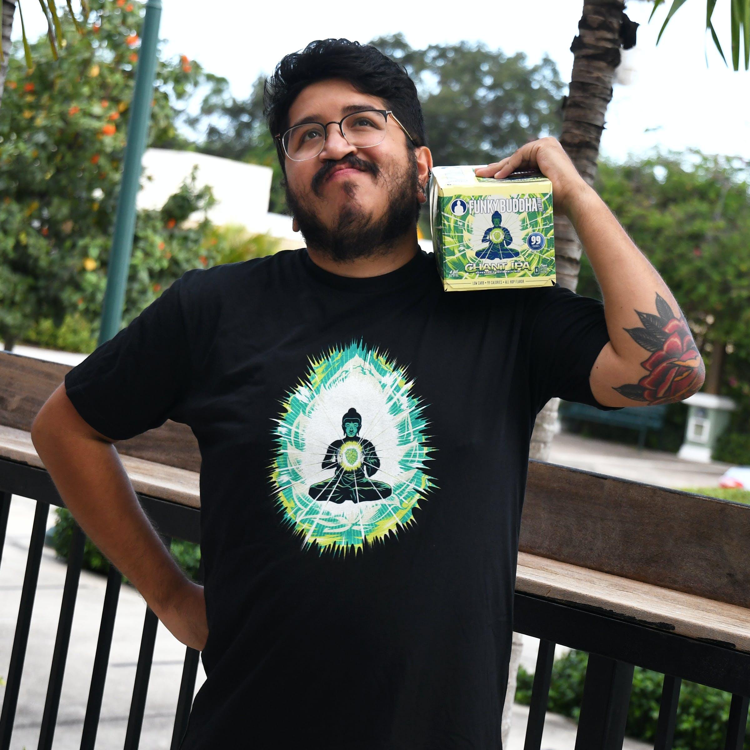 Chant IPA six-pack and shirt