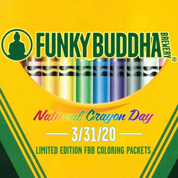 National Crayon Day: Funky Buddha Coloring Packet and Contest