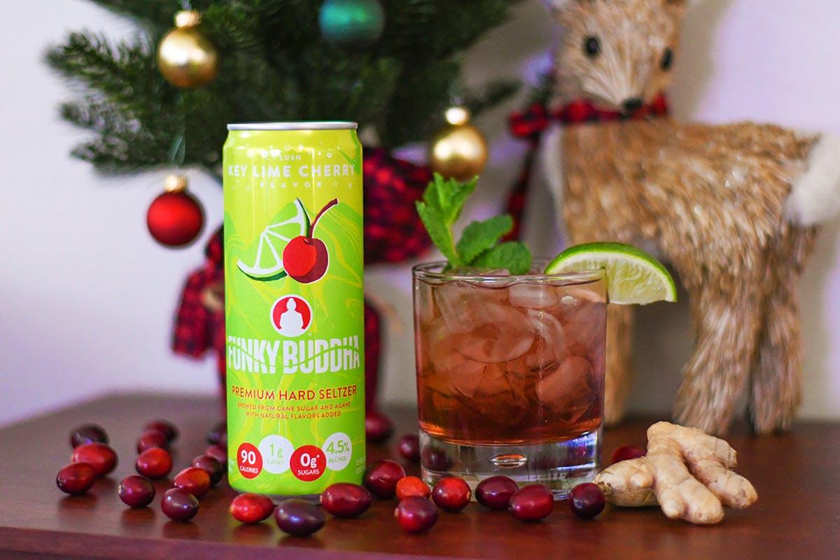 Prancer's Punch Seltzer Cocktail