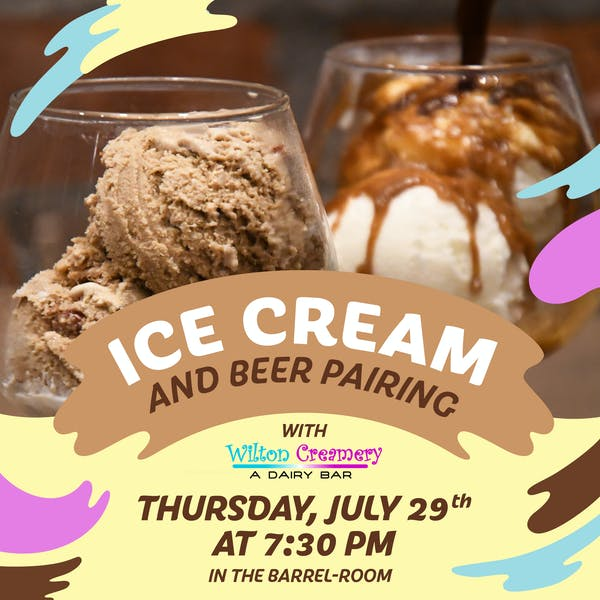 Ice Cream & Beer Pairing