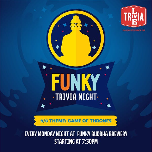 Themed Trivia Night – Game of Thrones