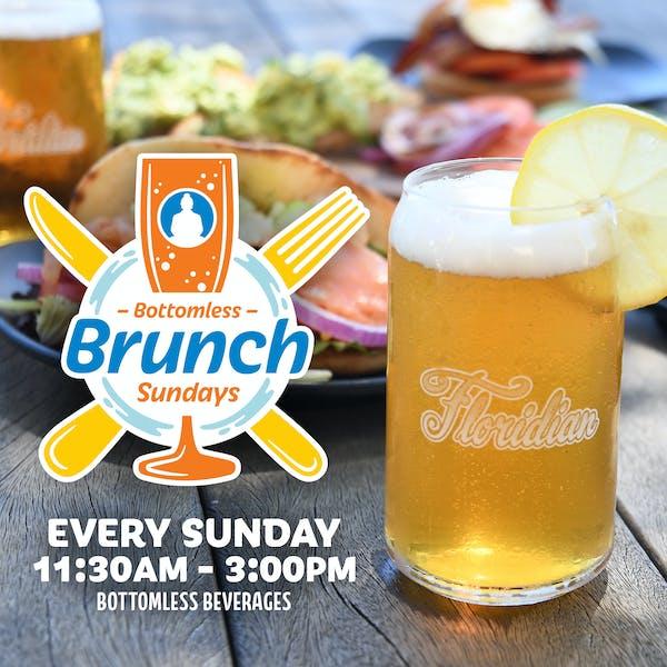 Bottomless Brunch Sundays are back!
