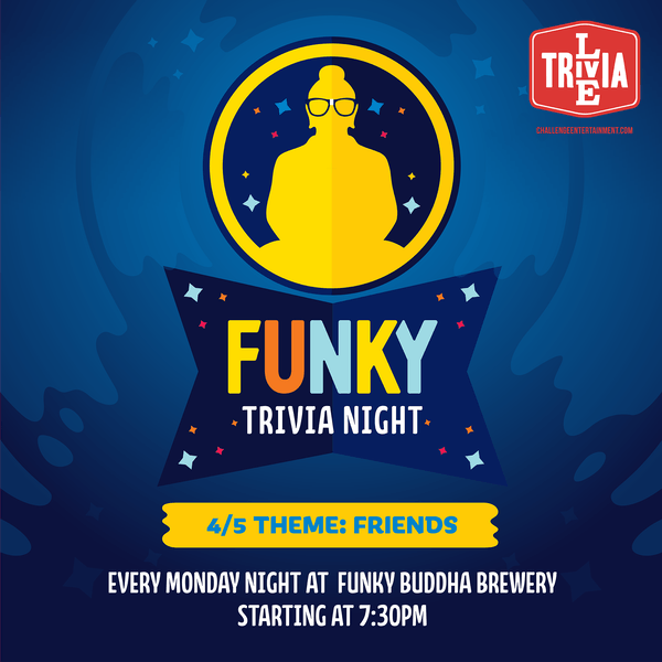 Themed Trivia Night – Friends